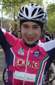Francesco Vergobbi, 13 anni